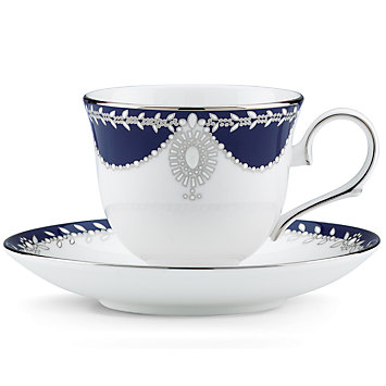 Marchesa Empire Cup and Saucer collection with 1 products
